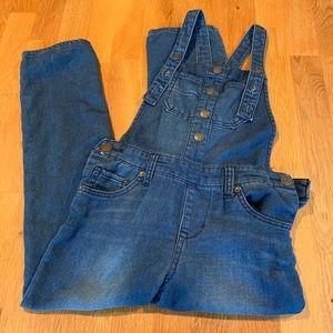 Cat & Jack Jean overalls